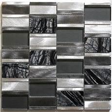 Tile Mosaic Aluminum Glass Tiles Kitchen Splashback Ceti