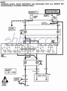 1994 firebird wiring diagram 1993 trans am stock cassette player pt 16137692 fourth generation pontiac firebird 1993