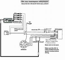 89 ford ignition module wiring diagram 1989 jeep grand wagoneer mag pu msd