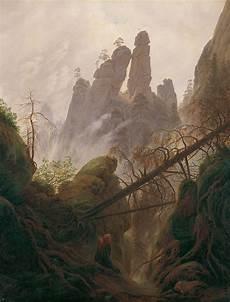 Romantik Caspar David Friedrich - the contemplative landscapes of german painter