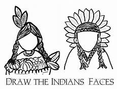 malvorlage indianer kopf coloring and malvorlagan