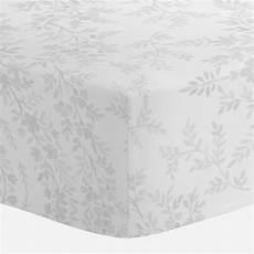 gray floral damask crib sheet carousel designs