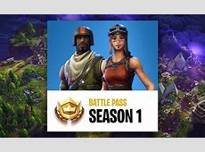 Fortnite Season 1 (Battle Pass) Guide   FIRST PATCH