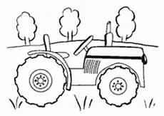 Einfache Ausmalbilder Traktor Malvorlagen Vom Bauernhof F 252 R Kinder Zum Ausmalen