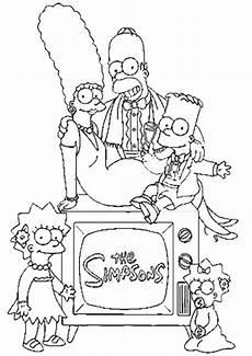 malvorlagen ausmalbilder simpsons ausmalbilder malvorlagen