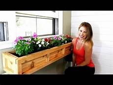 The 20 Window Planter Box Easy Diy Project