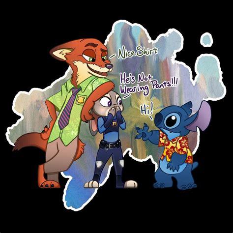 Lilo And Stitch Meet
