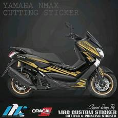 Variasi Lu Nmax by Jual Gold 3 Cutting Sticker Nmax Striping Variasi
