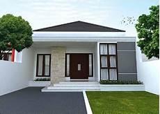 Rumah Minimalis Elegan Tak Depan