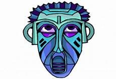 Afrikanische Muster Malvorlagen Pdf Masken Basteln Vorlagen Kostenlos