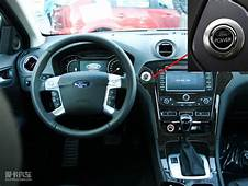 Push Start Button For Ford Car To Switch