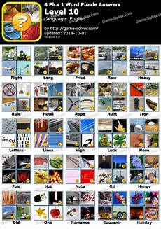 4 Pics 1 Word Puzzle Level 8 Solver
