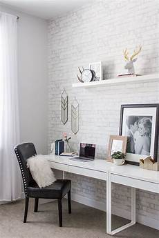 Minimal Home Decor Ideas by To Build A Home Office Reveal With Havenly Minimalist