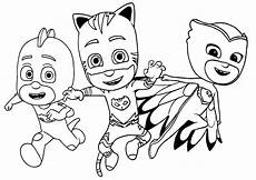 pj masks to print for free pj masks coloring pages