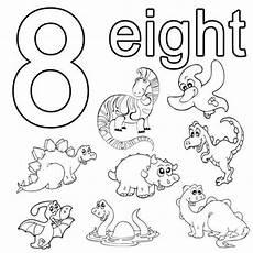 Malvorlagen Zum Nachmalen Englisch Kostenlose Malvorlage Englisch Lernen Eight Zum Ausmalen