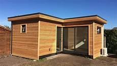 studio de jardin bureau de jardin extension bois