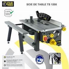 scie circulaire sur table ts1200
