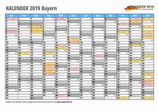 Kalender 2019 Bayern Feiertage Schulferien