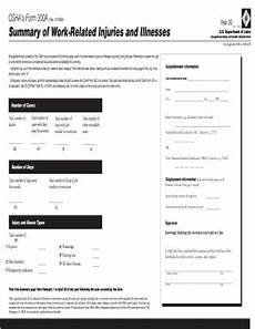 online osha 300a form in pdf printable blank to fill out