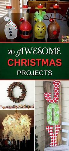 20 awesome diy christmas projects to beautify your home