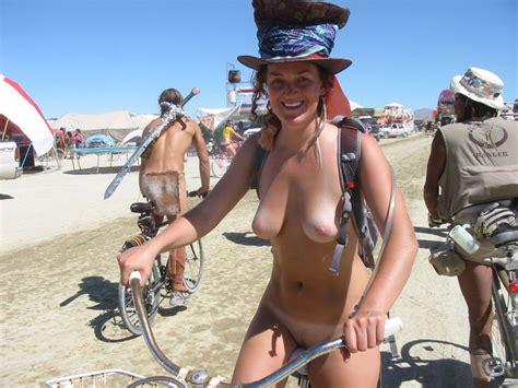 Burning Man Nude