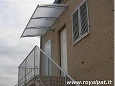 tettoia balcone tettoie per balconi coperture e pensiline per balconi