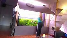 wand aquarium openen