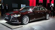 audi a8 quattro 2019 price 2018 audi a8 has lasers foot massagers and a big price tag