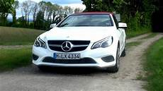 2014 Mercedes E 200 Cabriolet Facelift With 184 Hp Test