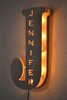 marquee lights kid bedroom l letter light personalized
