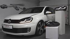 ledriving xenarc volkswagen golf 6 edition sequential