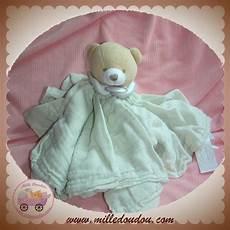 sos doudou et compagnie sos ours beige plat lange tissu