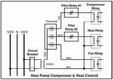 heat relay wire diagram heat relay requirements for heatpump thermostat home improvement stack exchange