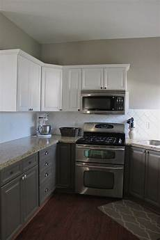lower cabinet brownish grey is valspar catch of the day kitchen cabinets backsplash