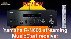 yamaha r n602 musiccast receiver