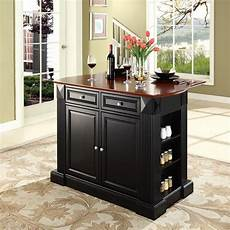Kitchen Island Furniture Shop Crosley Furniture 48 In L X 35 In W X 36 In H Black