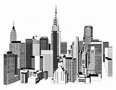 Malvorlagen New York Skyline Black And White City Skyline Search Skyline