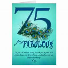 75th birthday card template happy 75th birthday gifts t shirts posters other