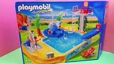 Playmobil Ausmalbilder Schwimmbad Playmobil Summer Schwimmbad Spass Im Erlebnisbad