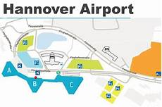 Hannover Airport Map