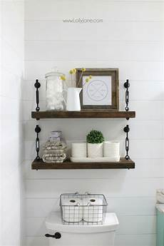 bathroom shelves decorating ideas diy turnbuckle shelf a great bathroom addition lolly