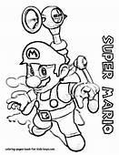 Super Mario Coloring Pages  Bros Games