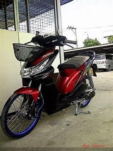 Variasi Warna Motor by Variasi Motor Beat Warna Merah Modifikasi Yamah Nmax