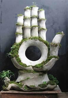 statues de jardin vivantes entre l et la botanique