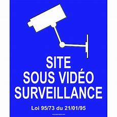 panneau site sous surveillance panneau site sous vid 233 o surveillance