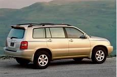 how petrol cars work 2001 toyota highlander navigation system 2001 07 toyota highlander consumer guide auto