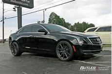 cadillac ats with 20in tsw bathurst wheels exclusively