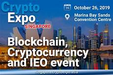 crypto expo singapore 2019 blockchain cryptocurrency and ieo event coinspeaker