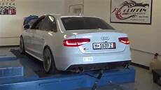 audi b8 5 s4 dyno pulls apr tuning armytrix cat back exhaust motorwerke youtube