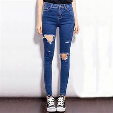 womens slim ripped pencil jean amazing products